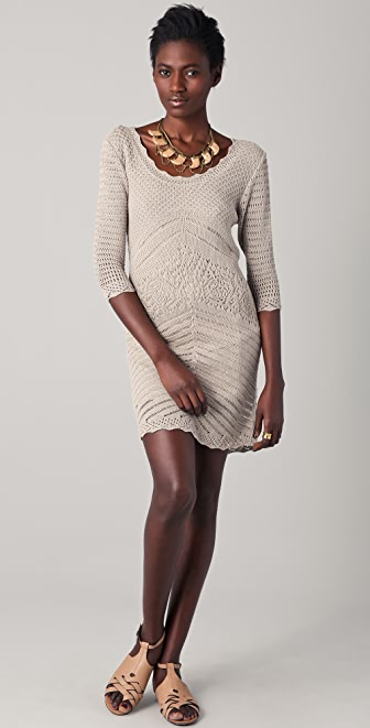 Robbi & Nikki Crochet Dress
