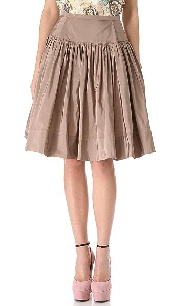 Rochas Full Faille Skirt