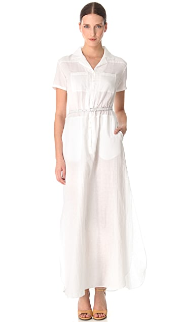 Rochas Cotton Maxi Dress