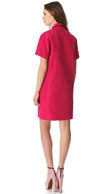 Rochas Short Sleeve Shirtdress