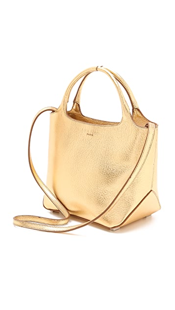 Rochas Borsa Leather Satchel