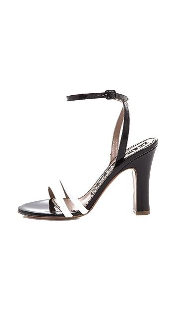 Rochas Ankle Strap Sandals