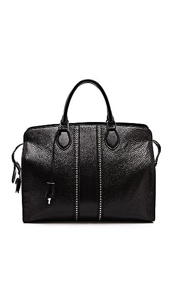 Rochas Large Leather Handbag