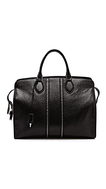 Rochas Large Leather Handbag