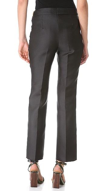 Rochas Slim Flare Pants
