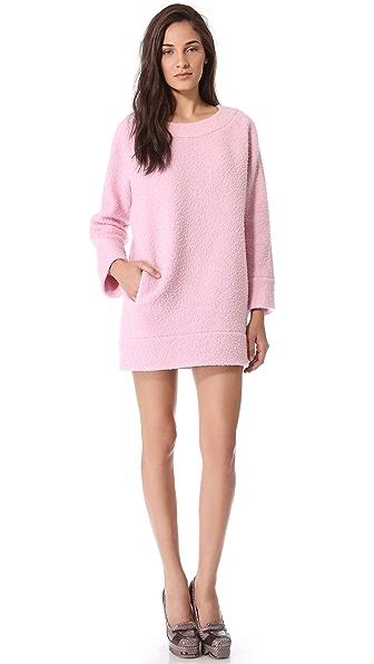 Rochas Pilled Sweater Dress