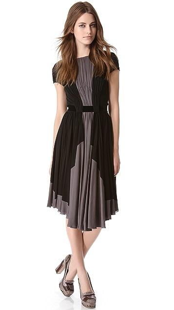 Rochas Two Tone Dress
