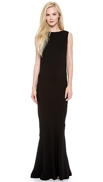 Rochas Sleeveless Gown