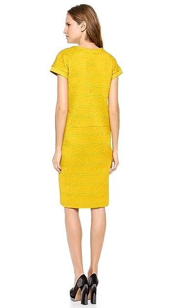 Rochas Short Sleeve Dress