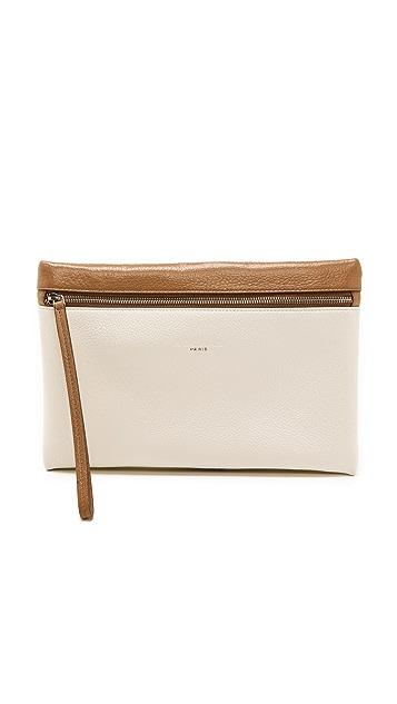 Rochas Leather iPad Clutch