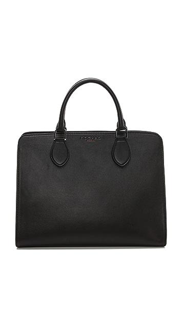 Rochas Leather Satchel