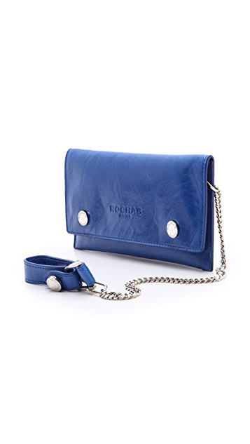 Rochas Wrist Chain Key Clutch