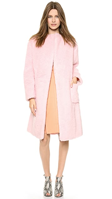 Rochas Woven Coat
