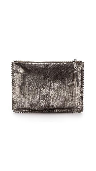 Rochas Leather Clutch