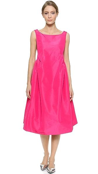 Shop Rochas online and buy Rochas Sleeveless Dress Rosa dresses online