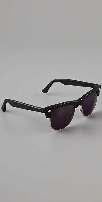 Rodarte for Opening Ceremony Snakeskin Sunglasses