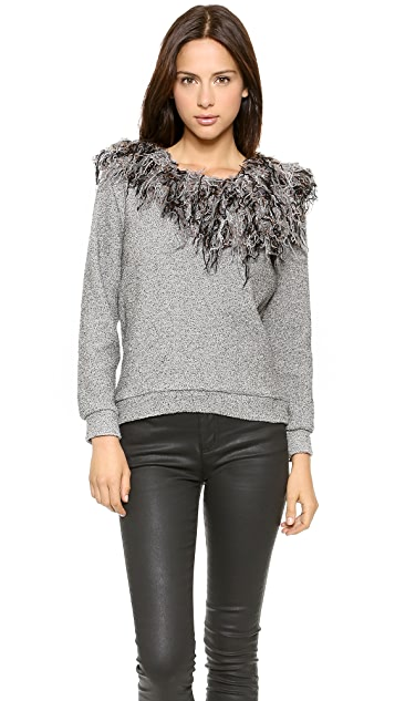 Rodebjer Thorax Fringe Sweater