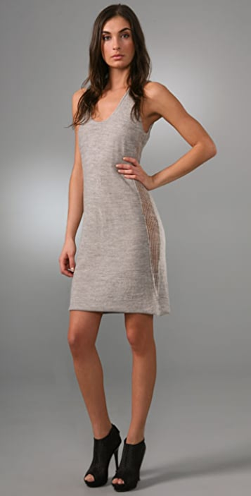 Rogan Tros Sweater Tank Dress