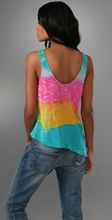 Rory Beca Amalfi Asymmetrical Tank with Buttons