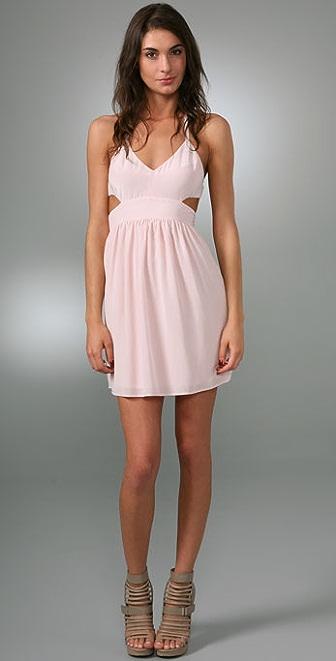 Rory Beca Bailey Cutout Halter Dress