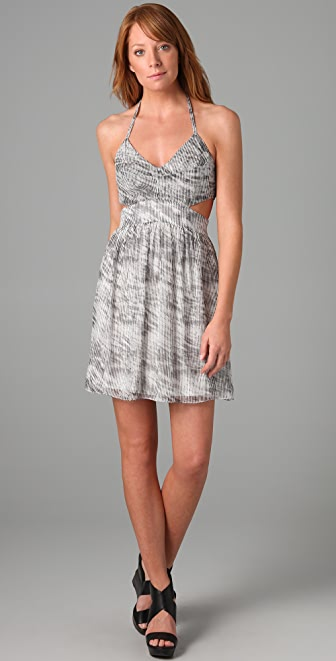 Rory Beca Print Bailey Halter Dress