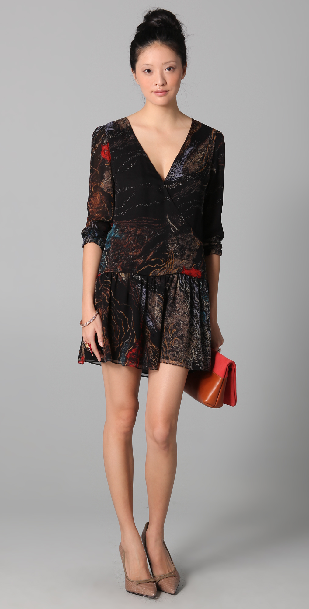 Rory Beca Baba Booey Wrap Dress