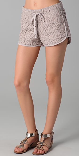 Rory Beca Crissa Lace Running Shorts