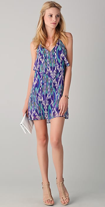 Rory Beca Pesha Halter Ruffle Dress