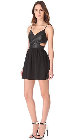 Rory Beca Cherry Cutout Dress