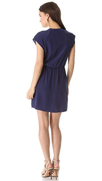 Rory Beca Spencer Pleated Wrap Dress