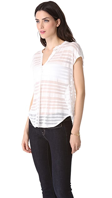 Rory Beca Essex Mandarin Collar Dolman Top