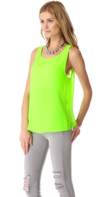 Rory Beca Roller Notched Side Top