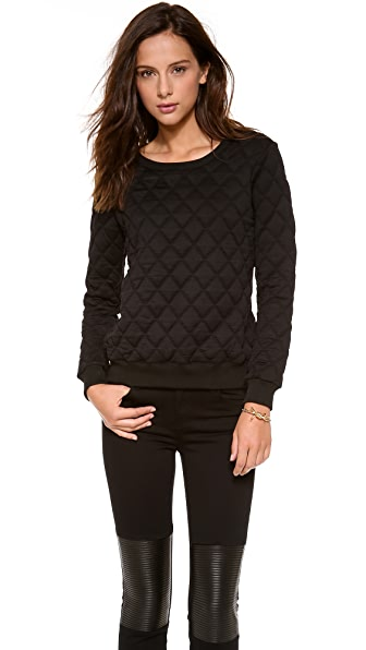 Rory Beca Bragg Quilted Sweatshirt