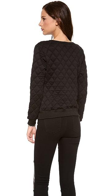 Rory Beca Bragg Quilted Sweatshirt