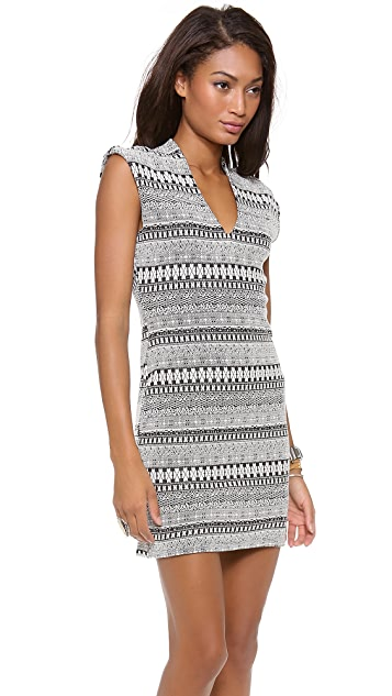 Rory Beca Spivey V Neck Fitted Dress