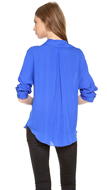 Rory Beca Memphis Cuffed Sleeve Blouse