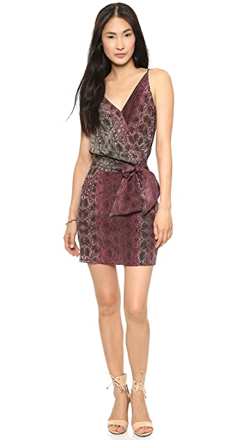 Rory Beca Molly Overlay Dress with Self Tie Belt