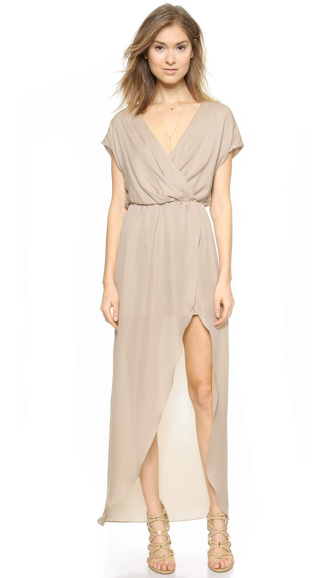 dbbdc944 Rory Beca Plaza Overlap Gown | SHOPBOP