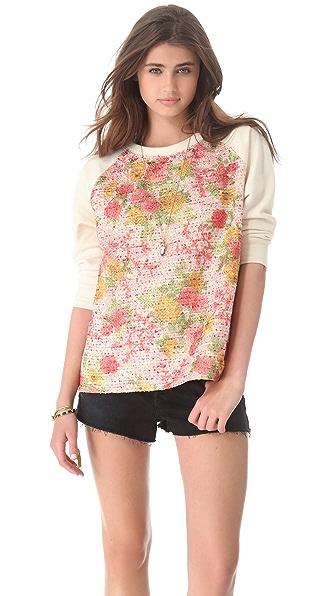 Roseanna Starr Floral Sweatshirt