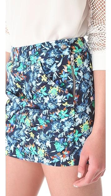 Roseanna Gordon Floral Miniskirt