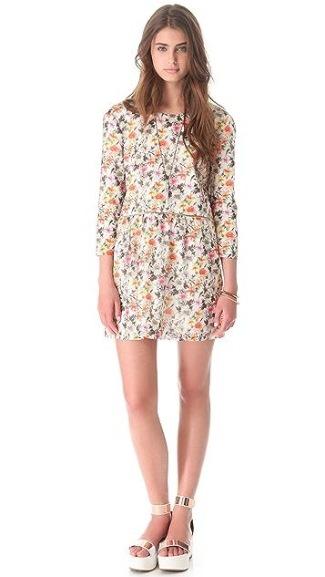 Roseanna Anika Floral V Back Dress