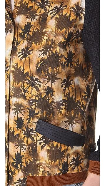 Roseanna Hawke Palm Tree Bomber Jacket