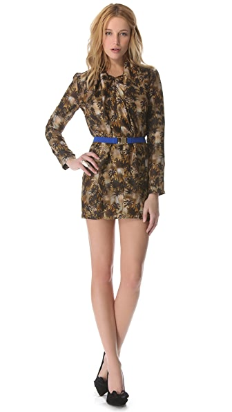 Roseanna Pretty Palm Faux Wrap Dress