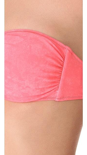 Roseanna Piercing Ben Bandeau Bikini Top