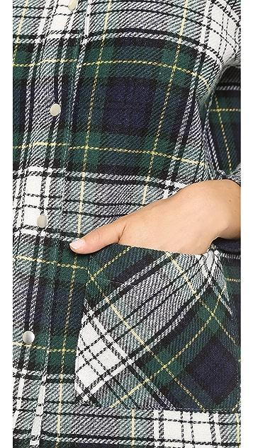 Roseanna Worker Button Down Coat
