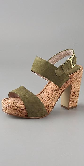 ROSEGOLD Tanya Cork Platform Sandals