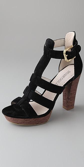 ROSEGOLD Pana Suede Platform Sandals