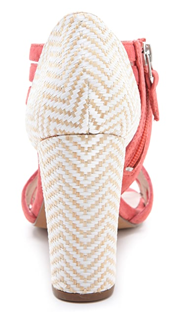 ROSEGOLD Zane Woven Booties