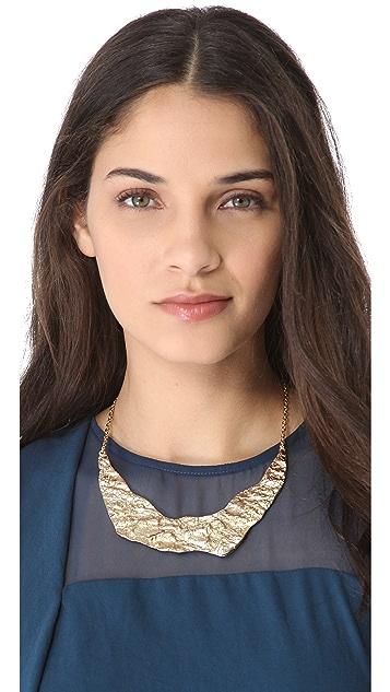 Rose Pierre Banyan Tree Bark Collar Necklace