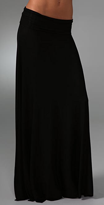 Rachel Pally Ribbed Long Full Skirt